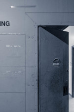 Your milage may vary - No trespassing door