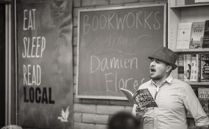 Junkyard Dogs book release - poems by Damien Flores   Stopped Down Studio