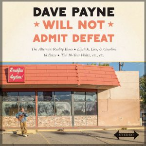 Commercial Pricing: Record Cover for Dave Payne